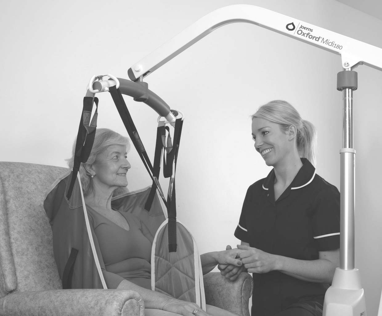 Sling Selection - Interested in our range of Oxford lifts, slings, accessories and beds? Contact Joerns Healthcare to find out more.