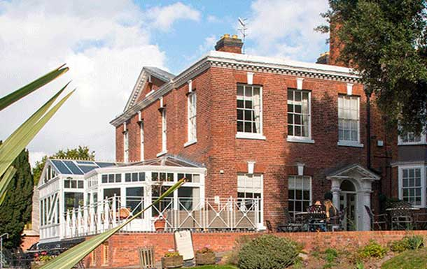 A night under the stars, Diglis House Hotel