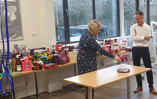 Christmas Charity Raffle with Acorns Children's Hospice