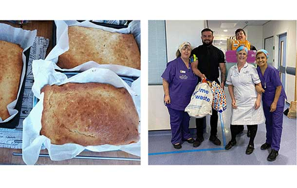 Joerns duo cook up a storm for the NHS