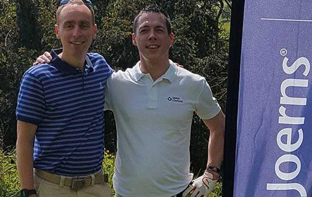 Joerns supports Parkinson's golf challenge
