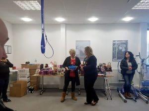 Christmas raffle for Acorns Children's Hospice