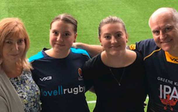 A day out at Worcester Warriors